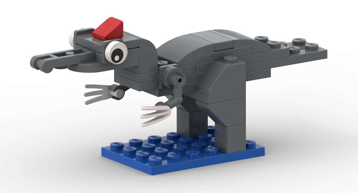 Lego Baryonyx